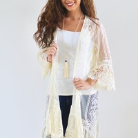Lace and Crochet Duster