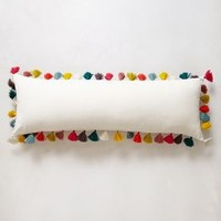 Firenze Velvet Tassel Pillow by Anthropologie