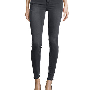 620 Mid-Rise Super Skinny Jeans, Night Bird, Size: