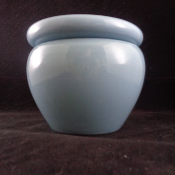 Blue Self Watering Pottery