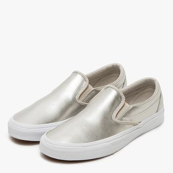 Vans / Classic Slip-On in Silver