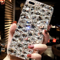 Personal luxury diamond iphone76s86pXplus phone shell