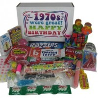 1953 63rd Birthday Gift Basket Box Jr. Retro Nostalgic Candy 50s Decade