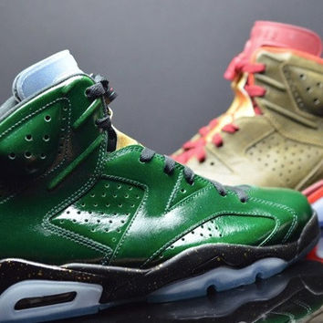 AIR JORDAN 6 (CHAMPIONSHIP PACKAGE - CIGAR & CHAMPAGNE)