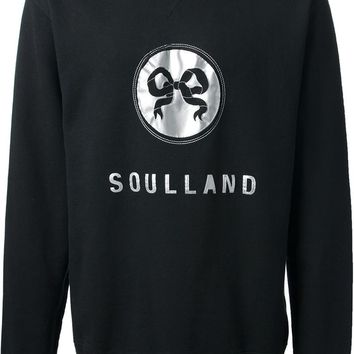 Soulland embroidered sweatshirt