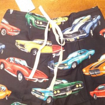 NWT Mens Car Cars Lounge Pants Pajama Pants Pyjama Pants Sleep Pants MADE IN USA