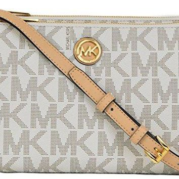 Michael Kors Fulton East West PVC Crossbody
