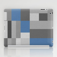 White Rock Blue iPad Case by Project M