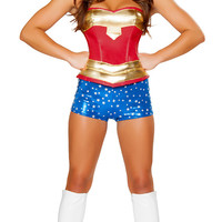 Wonder Woman 3 Piece Outfit/ Costume