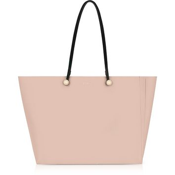 Furla Moonstone and Toni Magnolia Leather Eden Medium Tote Bag