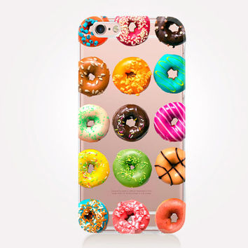 Transparent Donut iPhone Case - Transparent Case - Clear Case - Transparent iPhone 6 - Transparent iPhone 5 - Transparent iPhone 4