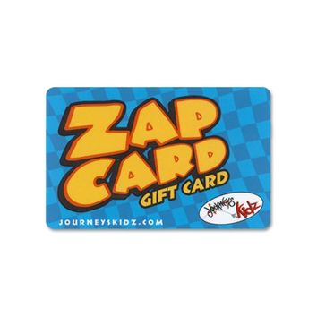 $10 Journeys Kidz Emailable Gift Card