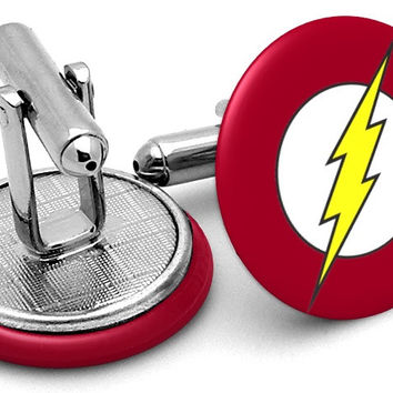 The Flash Symbol Cufflinks