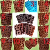 Silicone Unique Shape Chocolate Cake Sugar Candy Fondant Mold Jelly Baking ganggangfa = 5616997761