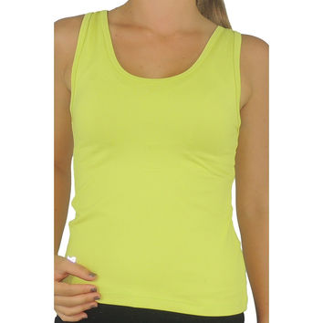 Tank Top Rosy Greenlime