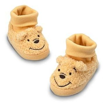 Winnie the Pooh Plush Slippers for Baby   Disney Store