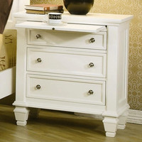 Huston Nightstand WHITE