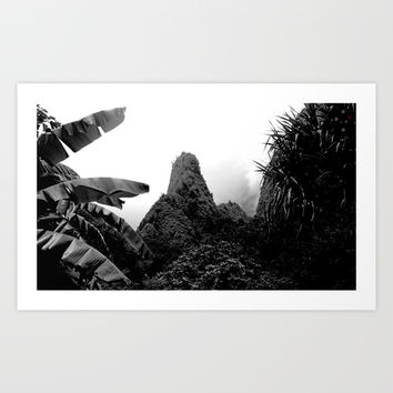 Iao Needle Art Print by Derek Delacroix