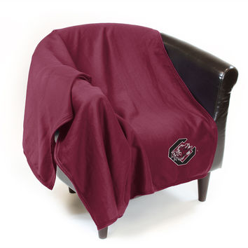 NCAA South Carolina Gamecocks Sweatshirt Throw