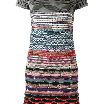 Missoni mixed pattern knit dress