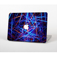 The Neon Glowing Strobe Lights Skin Set for the Apple MacBook Air 11""