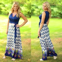 Summer Wrap Up Maxi Dress