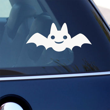 Cute Bat Decal -  Vinyl Decal for Laptop, Car