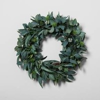 "Eucalyptus Wreath (24"") - Hearth & Hand™ with Magnolia"