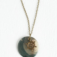 ModCloth Nautical Map to It! Necklace