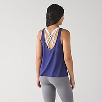 Lululemon Women Fashion Crisscross Yoga Sport Vest Tank Top