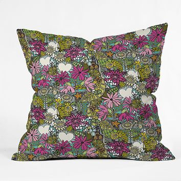Sharon Turner Fantastical Stellata Throw Pillow