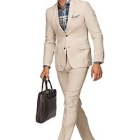 Suit Light Brown Plain Copenhagen P3512i | Suitsupply Online Store
