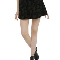 Iron Fist Skull Bow Skirt