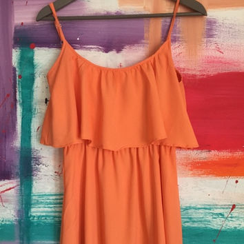 Peach Day Dress (Francesca's Collections)