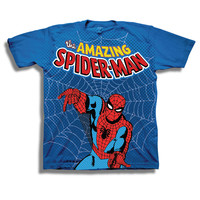 Spiderman Web N Flow Kids T-Shirt