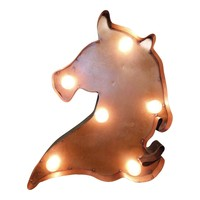 Horse Symbol Marquee Sign Light