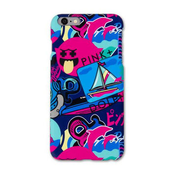 Timeless iPhone Case –Pink+Dolphin