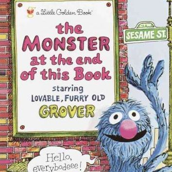 Monster at the End of this Book (Little Golden Books)