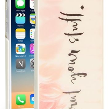 kate spade new york 'flamingo' lenticular iPhone 6 case - Pink