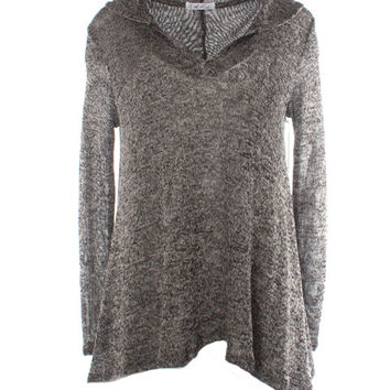 On The Road Lightweight Marled Yarn Hoodie