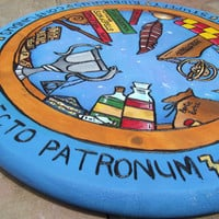 Harry Potter Lazy Susan by backwoodgalleries on Etsy