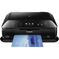 Canon - PIXMA MG7520 Wireless Inkjet Photo All-in-One Printer - Black