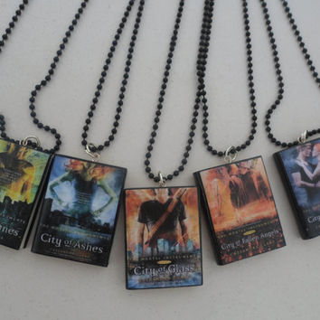 The Mortal Instruments book necklaces