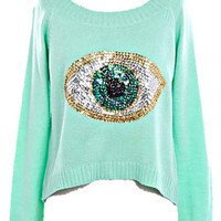HAMSA EYE SWEATER