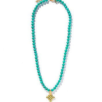 Akola Coptic Necklace - Tropic