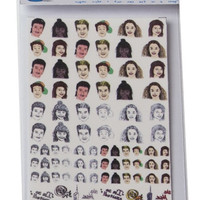 Teen Heartthrob Nail Decals
