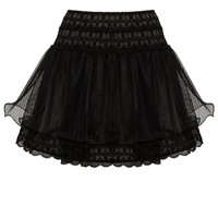 alice + olivia | MORIAH LACE TIERED SKIRT