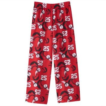 Jelli Fish Baseball Pajama Pants - Boys