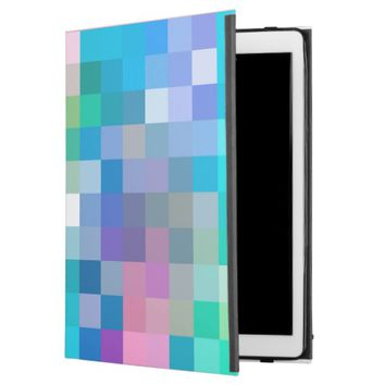 "blue blocks iPad pro 12.9"" case"