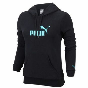 Puma:Students with leisure sports coat cashmere sweater thick warm coat Gender female